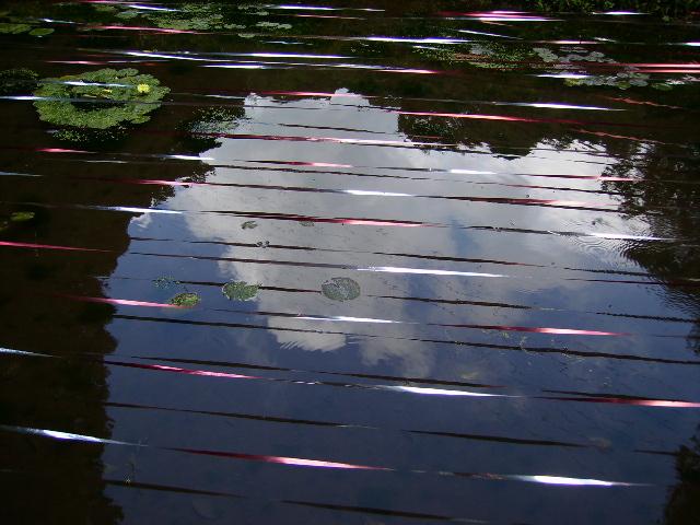 水面の青空89